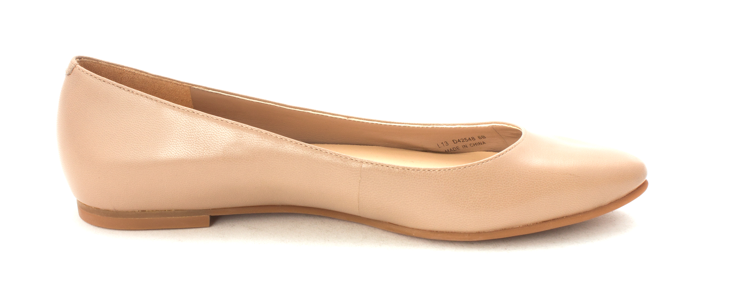 Cole Haan Womens Fernsam Closed Toe Slide Flats, Tan, Size 6.0
