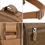 dfd9e8a7e8e3 Plambag Canvas Messenger Bag Small Travel School Crossbody Bag Image 7 of 7