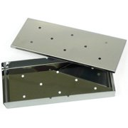 Mr. Bar-B-Q Stainless Steel Smoker Box with Lid