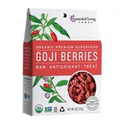 Essential Living Foods Goji Berries, Raw, 8 Oz