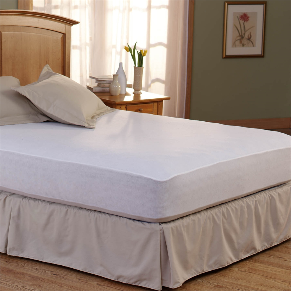 Bed Armor Waterproof Mattress Pad Twin Xl Walmart Com