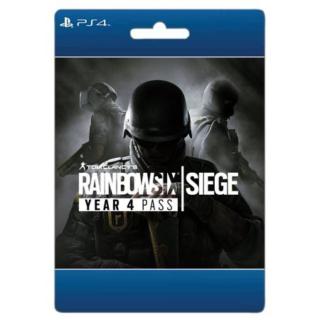 Tom Clancy's Rainbow 6 Siege: Year 4 pass, Ubisoft, Playstation, [Digital