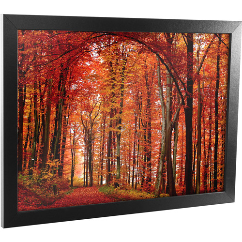 "Trademark Art ""The Red Way"" Framed Canvas Art, 18x24 by TRADEMARK GAMES INC"