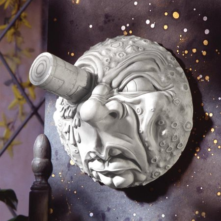 Design Toscano Trip to the Moon Wall Sculpture