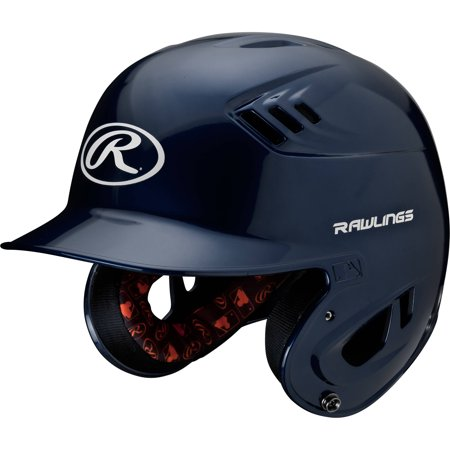 - Rawlings Junior R16 Series Metallic Helmet, Navy Blue