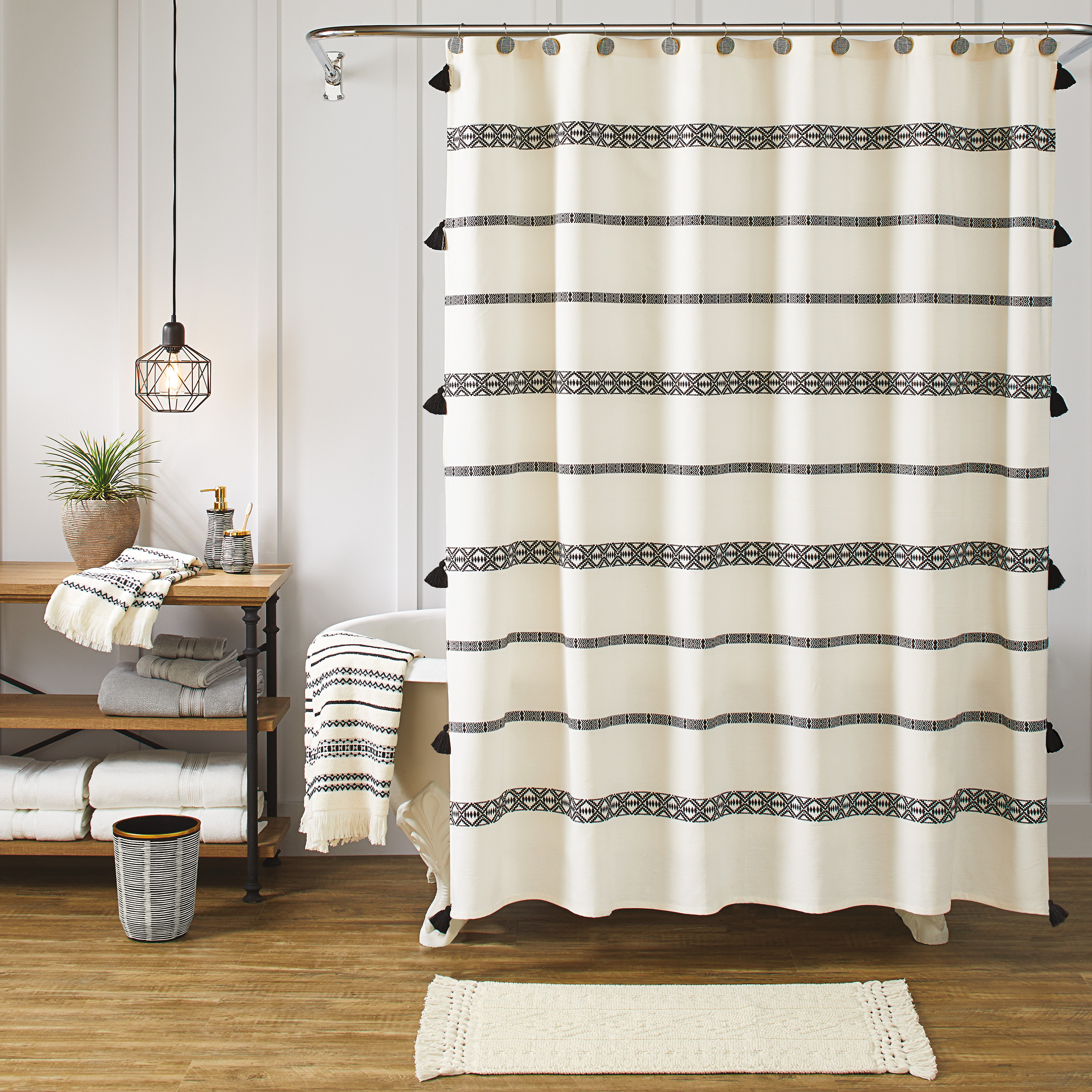 Beautiful Better Homes And Gardens Tribal Chic Shower Curtain