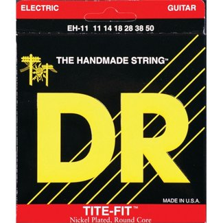 Dr Strings EH-11 11-50 Extra Heavy-Tite Fit Nickel-Plated Guitar Strings