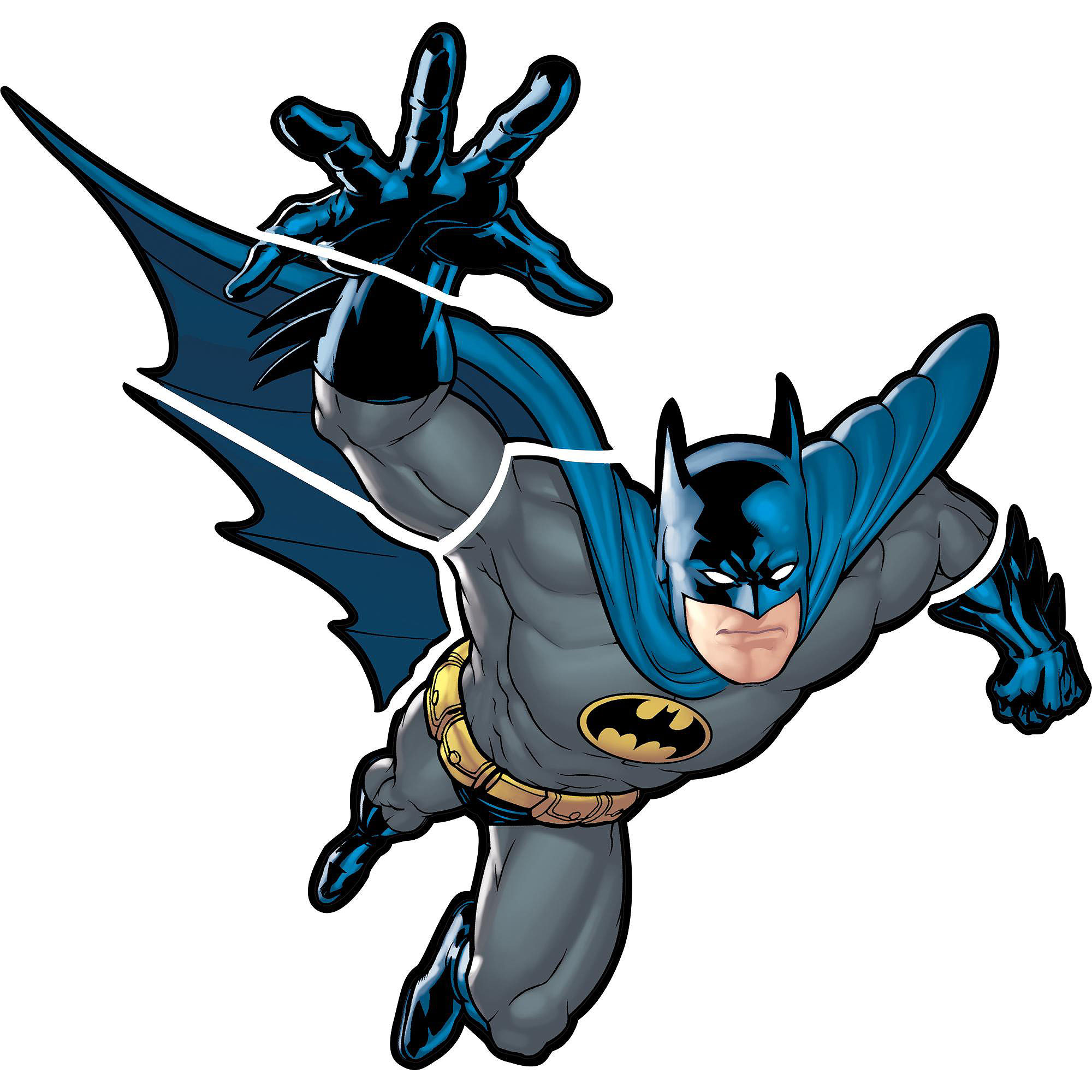 RoomMates Batman Gotham Guardian Peel and Stick Giant Wall Decal