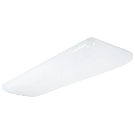 Lithonia Lighting 10640 White Diffuser Litepuff Indoor 1 Foot By 4 Foot Fluorescent 1 Light Fluorescent Square Diffuser