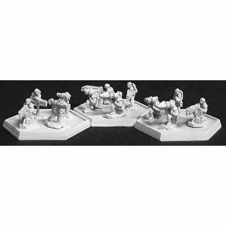 Heavy Gear Miniatures - Light Infantry Heavy Weapons Miniature CAV Strike Operations Reaper Miniatures