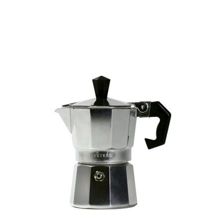 Primula Aluminum 1 Cup Stovetop Espresso Maker - (4 Cup Stovetop Espresso Machine)