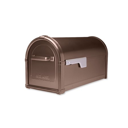 Hillsborough Post Mount Mailbox Copper - Mount Copper Mailbox