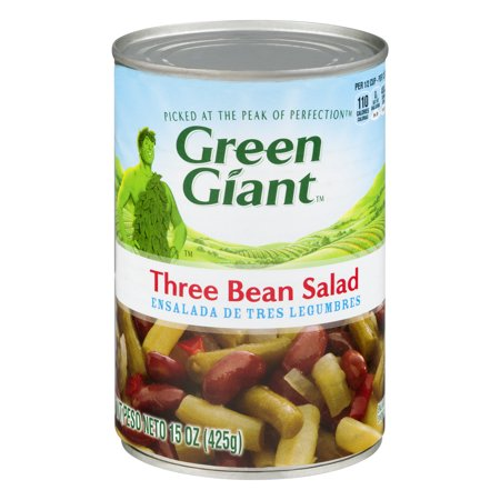 (6 Pack) Green Giant Three Beans Salad, 15 Oz