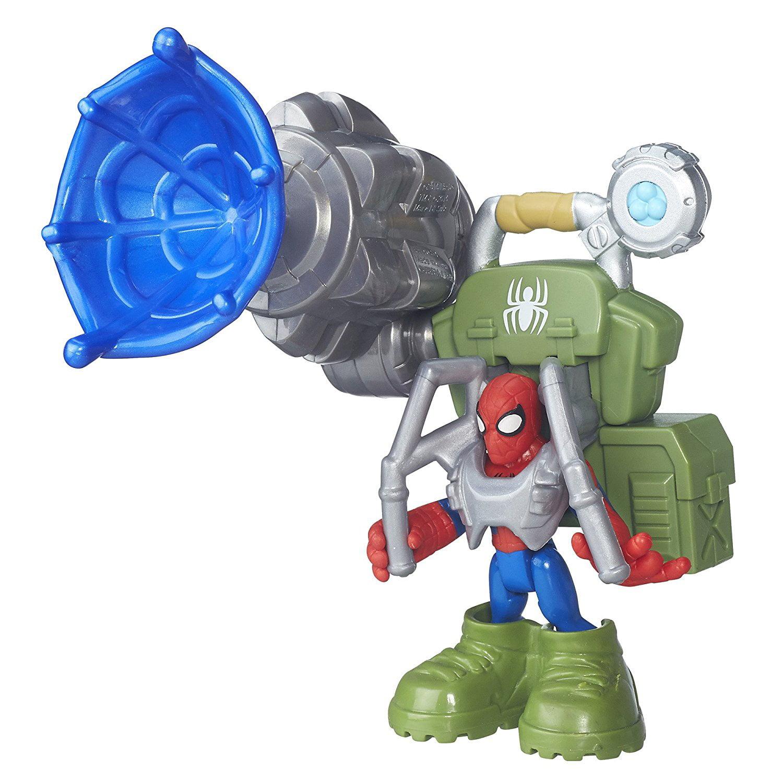Heroes Super Hero Adventures Jungle Web Spider-Man, USA, Brand Playskool by