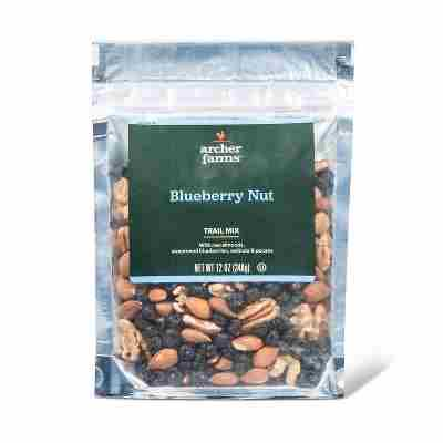 Blueberry Nut Heart Healthy Trail Mix - 12oz - Archer