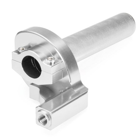 """7/8"""" Handlebar CNC Twister Throttle Tube Clamp Assembly Pit Dirt Bike Motorcycle - image 1 of 8"""