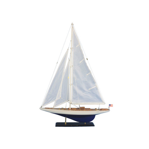 Handcrafted Nautical Decor Enterprise 35'' Wooden Model Sailboat by Handcrafted Model Ships