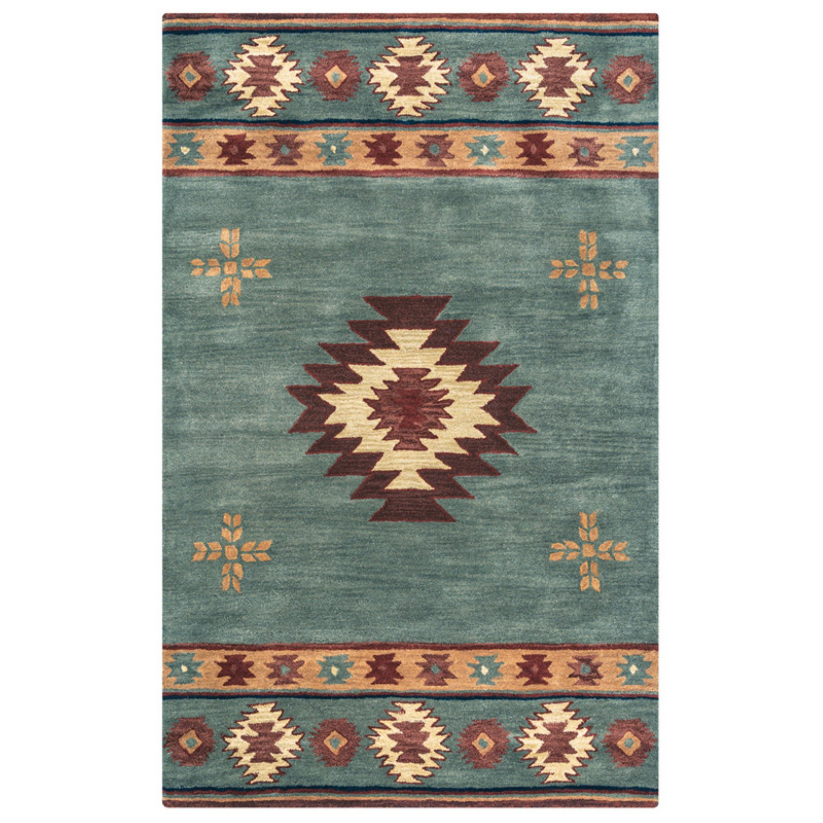 Rizzy Rugs Southwest Green Rug