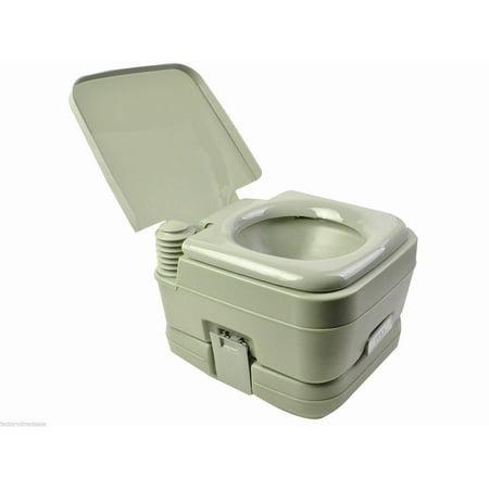 Outdoor 2.8 Gal Portable Outdoor Camping Recreation Toilet Green ...