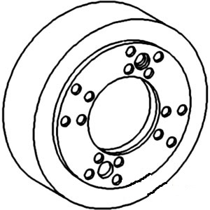 70237418 New Brake Drum Assembly For Allis Chalmers