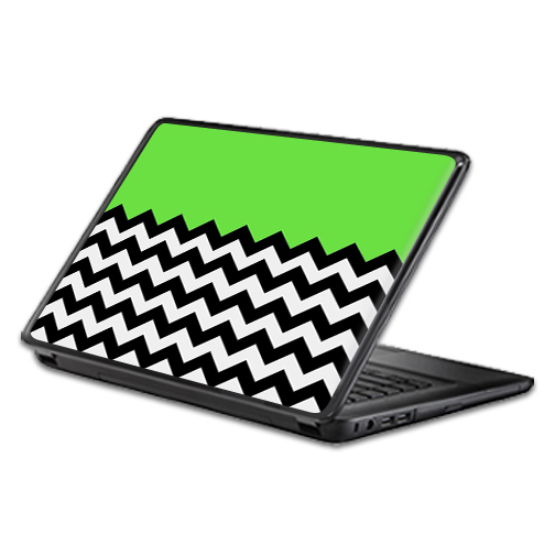 MightySkins Protective Vinyl Skin Decal Wrap for Universal Laptop Apple Asus Acer Dell Lenovo Sony Toshiba 11 13 15 17 sticker cover Lime Chevron
