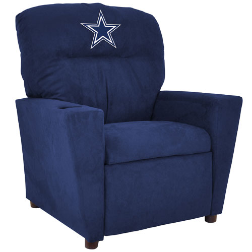 NFL Dallas Cowboys Team Kids Recliner