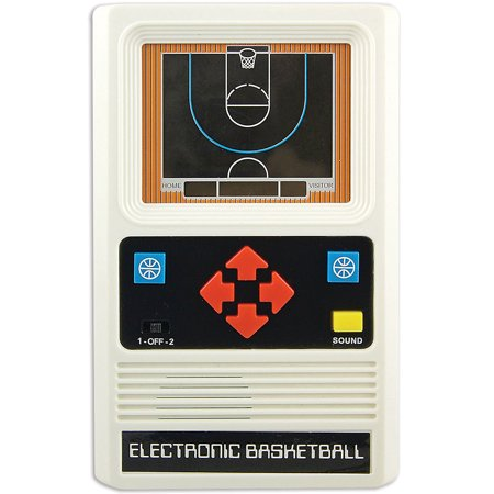 Retro New And Improved Upgraded Electronic Hand Held Travel Basketball Game