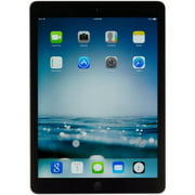 Apple iPad Air with Wi-Fi + Cellular 16GB - Space Gray - AT&T Scratch and Dent Refurbished ME991LL/A