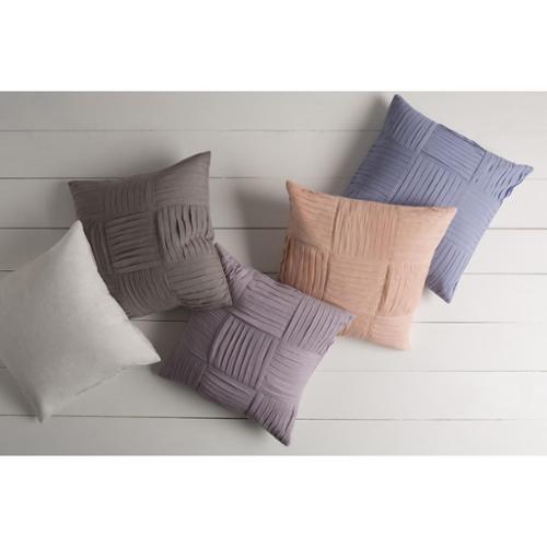 Decorative Cassadee 20-inch Down or Poly Filled Throw Pillow Down - Pink