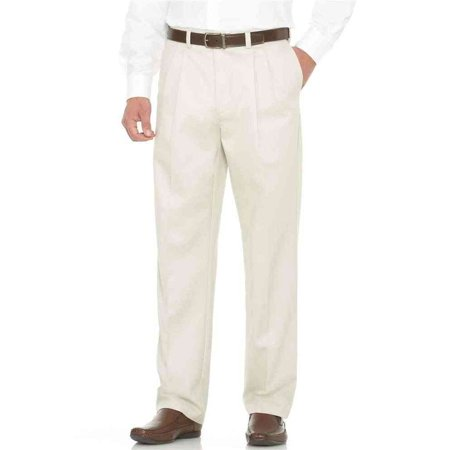 Savane Men's Pleated Front Performance Chino