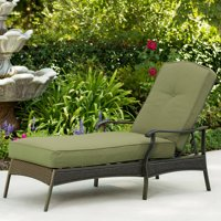 Better Homes & Gardens Providence Outdoor Chaise Lounge, Green