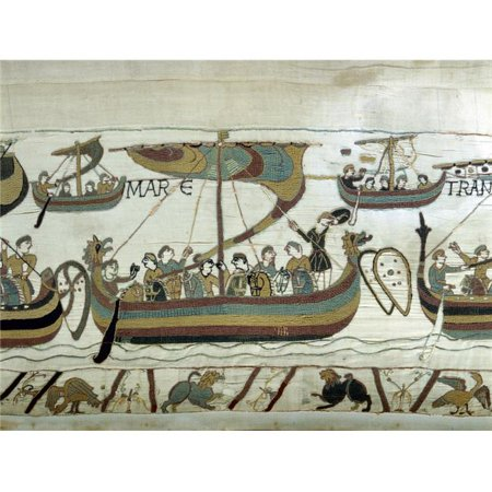 Everett Collection EVCCRLA001YF182H 1355 The Bayeux Tapestry Poster Print, 24 x 18 - image 1 de 1