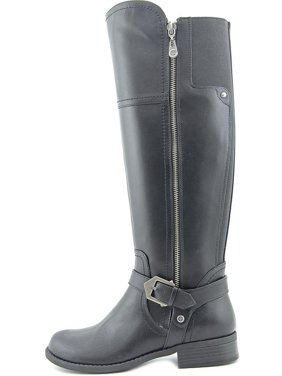 5e8367fc882 Product Image G by Guess Womens HAILEE Leather Closed Toe Knee High Riding  Boots