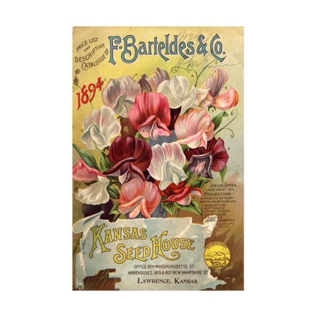 Seed Catalog Captions (2012): F. Barteldes and Co. Price List and Descriptive Catalogue Print Wall - Co Catalog