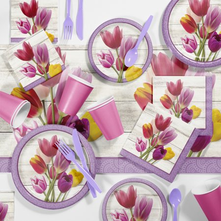 Beautiful Blossoms Floral Party Supplies Kit