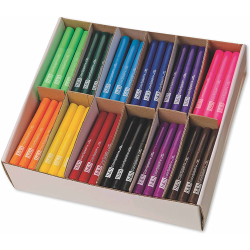 Color Splash! Chunky Markers PlusPack, Pack of 180