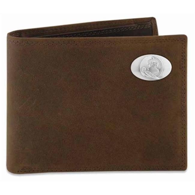 FSU Passcase Crazyhorse Leather Wallet - image 1 of 1