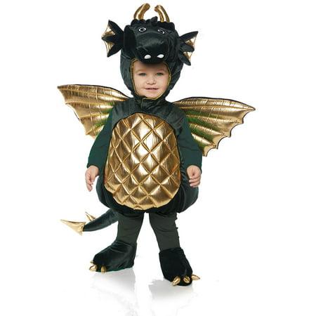 Green Dragon Toddler Costume - Dragons Costume