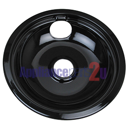 "DBU8P DRIP PAN 8"" - BLACK"