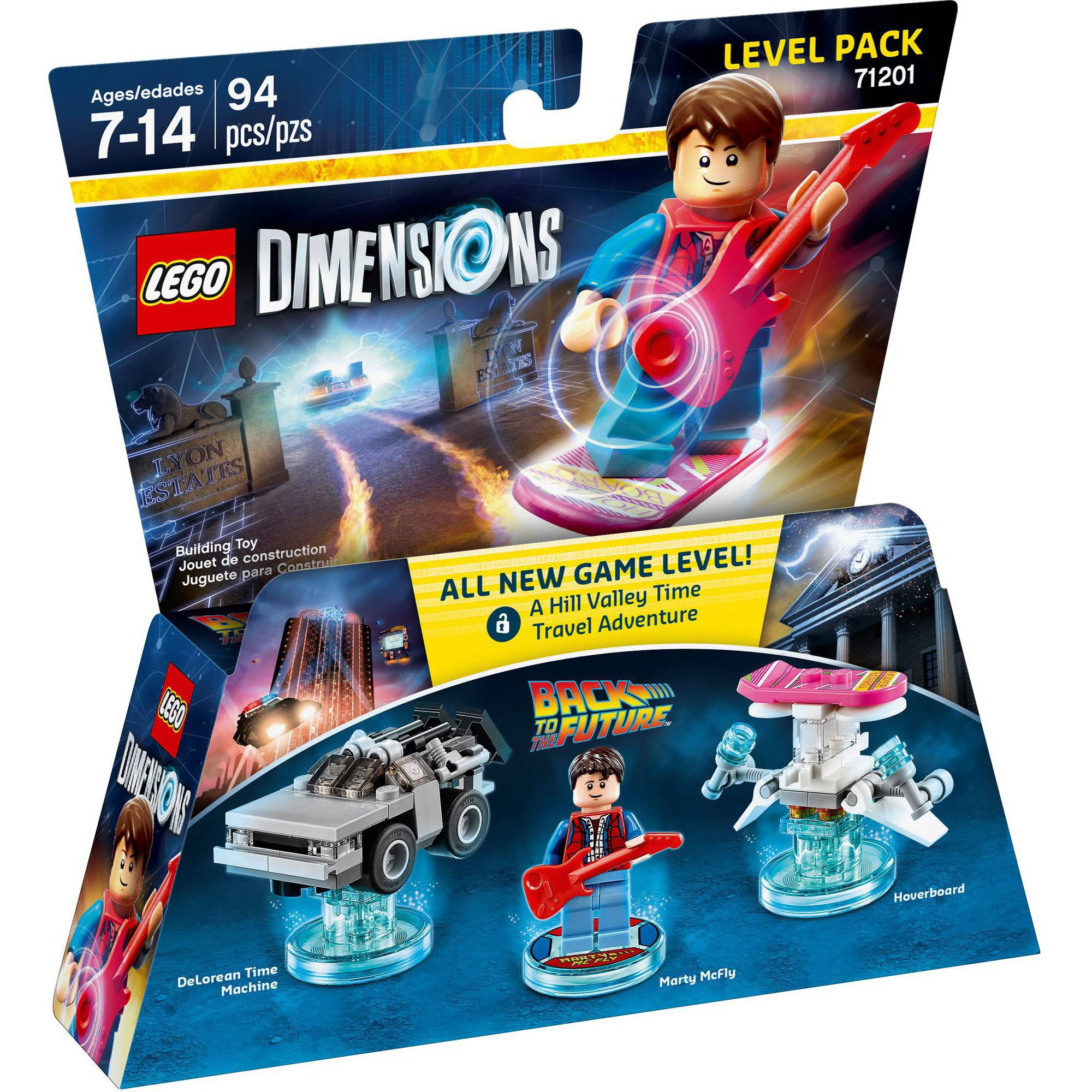 LEGO Dimensions Marty McFly (Back to the Future) Level Pack (Universal)