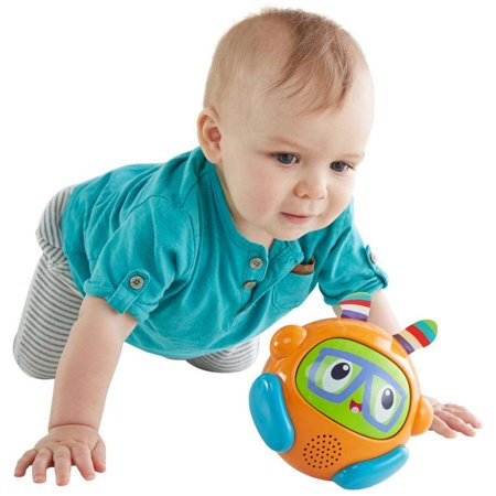 - Fisher-Price Bright Beats Spin & Crawl Tumble Ball Franky Beats