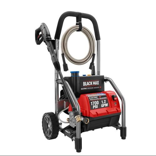 Black Max 1700 PSI 1.2 GPM Electric Pressure Power Washer (Refurb) | BM80721 [Refurbished]