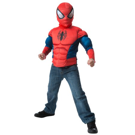 Spider-Man Muscle Chest Shirt