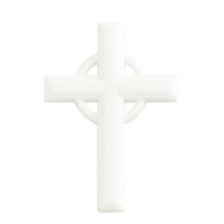 24pk White Cross 4 1/4