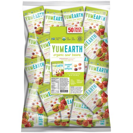 YumEarth  Sour Jelly Beans  Snack Pack  Bulk   50 Snack Packs  20 g Each](Jello Halloween Snacks)