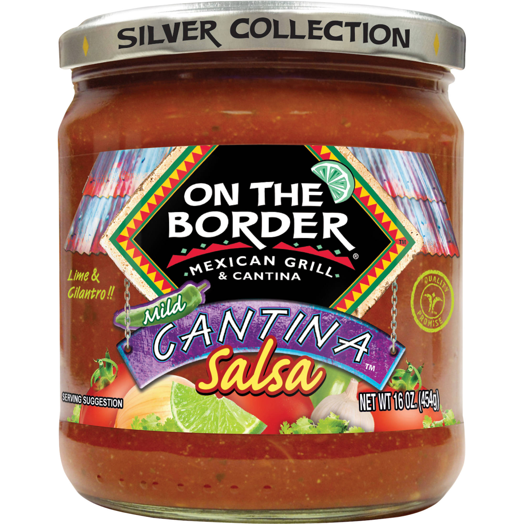 On The Border Mild Cantina Salsa, 16 oz