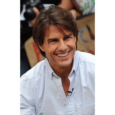 Tom Cruise At Talk Show Appearance For Good Morning America Celebrity Guests  New York Ny June 22 2010 Photo By Kristin Callahaneverett Collection Photo Print