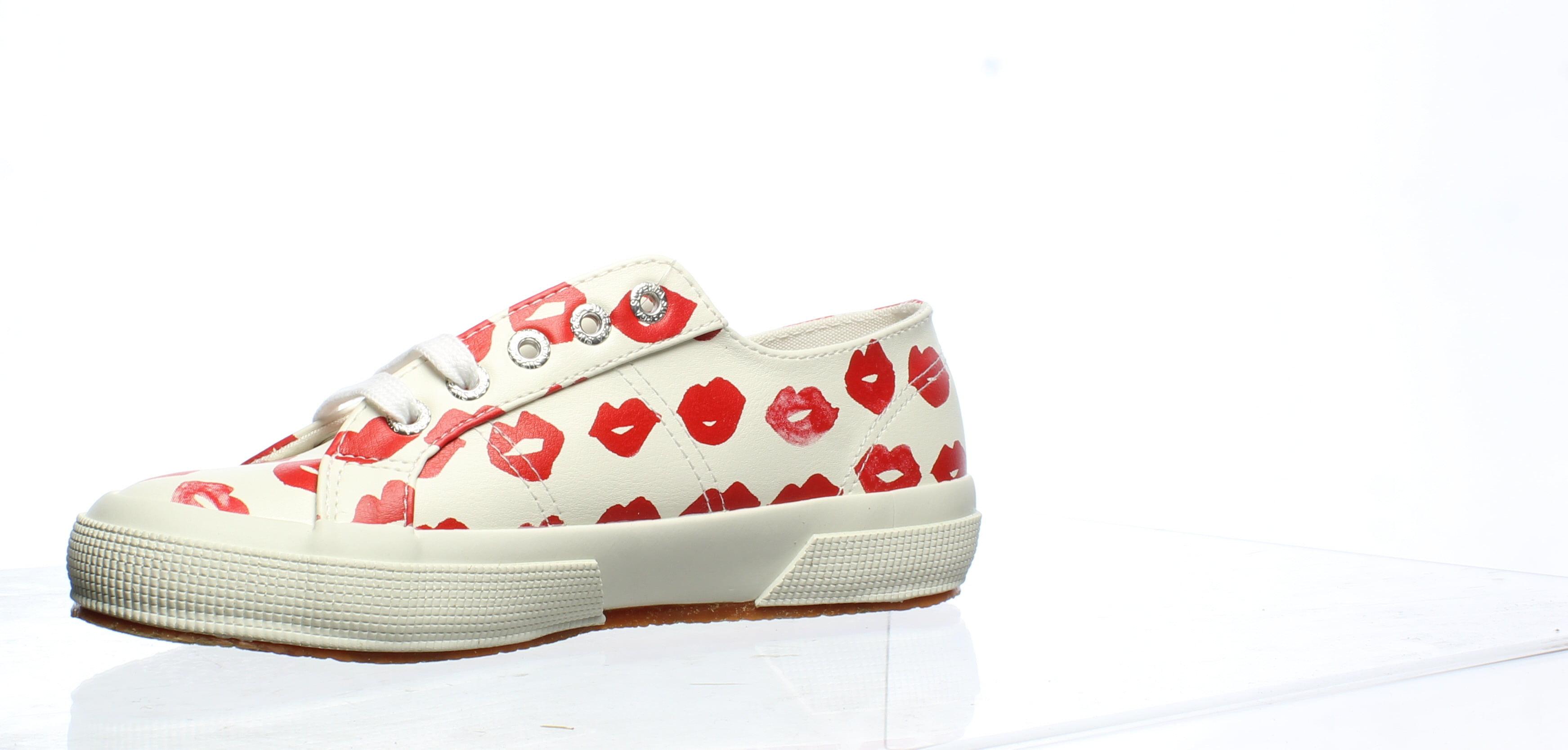 Red/Multi Fashion Sneaker Size