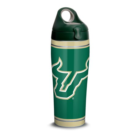 NCAA South Florida Bulls Campus 24 oz Stainless Steel Water Bottle with