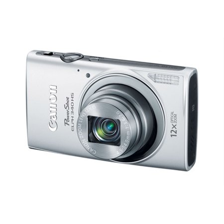 Canon PowerShot ELPH 340 HS Digital Camera with 16 Megapixels and 12x Optical Zoom (Available in multiple colors)